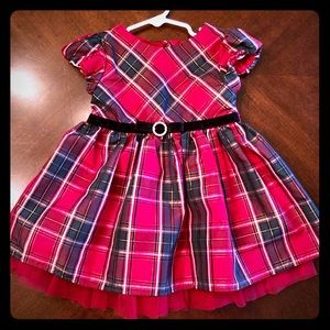 Toddler Holiday Dress. Size 18 months